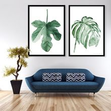 Image result for art to match tropical prints