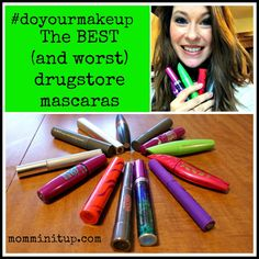 Thorough review of the Best and Worst Drugstore Mascaras - read before you buy!