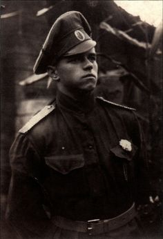 Georgy Konstantinovich Zhukov's History Emporium | A young White Army officer in late 1917. The white...