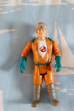 Vintage Retro Ghostbusters Action Figure Toy 1987 Ray Stantz Screaming Heroes Fright Features