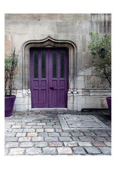 Purple Door 4 Taidevedos
