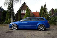 Audi RS4 Avant B7 by Theovanv, via Flickr