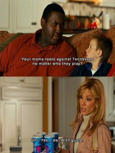 The blind side. This movie is so me