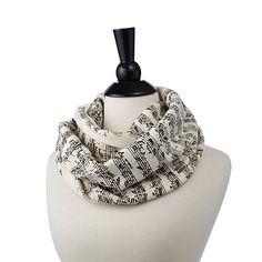 Look what I found at UncommonGoods: Handwritten Sheet Music Scarf for $48 #uncommongoods