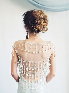 unique beaded back wedding dress Top Wedding Dresses, Wedding Gowns, French Wedding, On Your Wedding Day, Bridal Style, Wedding Designs, Bridal Gowns, Marie, Lace Gowns
