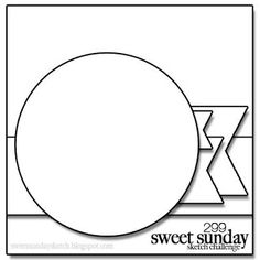 My Little Creative Escape: Sweet Sunday Sketch 299-Hello