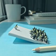 Small but magical world set amongst office supplies by Derrick Lin http://photoshoproadmap.com/small-magical-world-set-amongst-office-supplies-derrick-lin/?utm_campaign=coschedule&utm_source=pinterest&utm_medium=Photoshop%20Roadmap&utm_content=Small%20but%20magical%20world%20set%20amongst%20office%20supplies%20by%20Derrick%20Lin