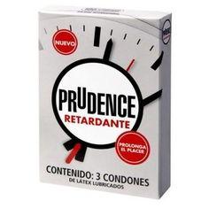 Prudence con Retardante 3pz. - Condon $ 94.00 Envios a todo Mexico
