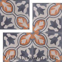 Lisbon Cement Tile, from Villa Lagoon Tile