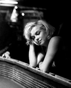 "infinitemarilynmonroe:  """"""She was a lonely girl all the way through.""  - Allan 'Whitey' Snyder  Photo by Eve Arnold, 1960.  "" """