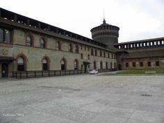 Milan, Italy : Castello Sforzesco on the Shutterbug Traveler Travel Blog