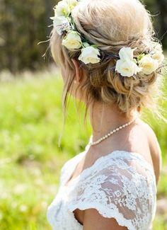 Roses, lavender, white lace // Dawn Heumann Photography