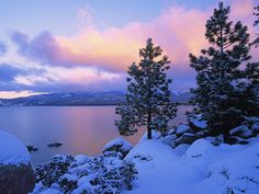 Lake Tahoe - had our first snow this week!  #falltravel #fallessentials