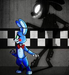 Shadows by AnimatronicBunny on @DeviantArt