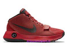 ed9ed47a027d Nike KD Trey 5 III Prix Chaussures De BasketBall Pas Cher Pour Homme  Rouge Noir 749377-606