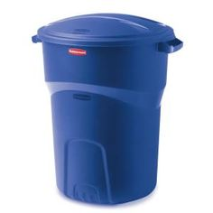 Roughneck 32 gal. Recycling Bin-1792641 at The Home Depot