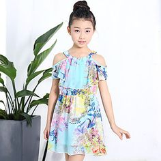 Vestidos de Moda para Niña Little Girl Outfits, Kids Outfits, Cute Outfits, Toddler Girl Dresses, Girls Dresses, Summer Dresses, Fashion Kids, Moda Fashion, Girls Wear