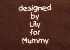 #embroidery #be-spoke #design #mother's-day