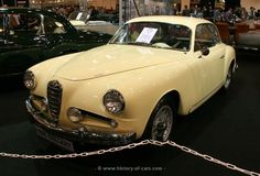 Alfa Romeo 1900C Coupe Super Sprint (CSS)  body by Touring 1954, Italy