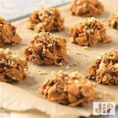 Haystacks from Jif® Peanut Butter Milkshake, Peanut Butter Muffins, Easy Peanut Butter Cookies, Peanut Butter No Bake, Crisco Recipes, Candy Recipes, Holiday Recipes, Desserts Menu, Dessert Recipes