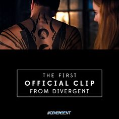 Tune into Yahoo Movies at 6pm PT tonight for the worldwide online premiere of the FIRST clip from Divergent! ~Divergent~ ~Insurgent~ ~Allegiant~