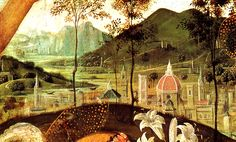 City view of Florence by Paolo Ucello (1397-1475), Italy
