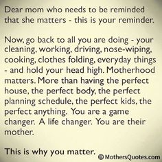 for all those single moms like myself...<3