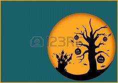 trees halloween haunted - Google Search