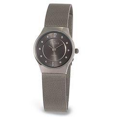 Skagen Denmark Women's Titanium Watch, $130