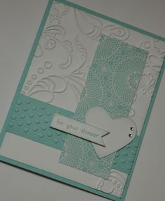 Wedding Shower Card - Stampin Up