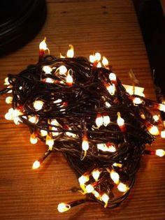 Brown Corded Christmas Lights