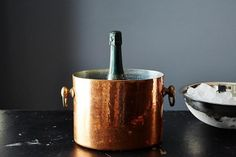 The Fastest Way to Chill a Bottle of Wine (for Celebratory Emergencies!)