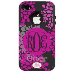"iPhone Otterbox case! ""Paris Blooms""-- so pretty!!"