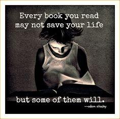 books save lives