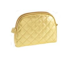 Danielle Oval in Gold Cosmetic Case by Danielle. $17.99. 8 inches long x 6 inches high. Gold look. Oval cosmetic case. Oval cosmetic bag in gold look, 8 inches long x 6 inches high, ideal for travel and purse.
