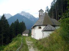 Chiesetta della Madonna di Loreto Lozzo di Cadore Belluno Dolomiti Veneto Italia