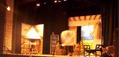 Piezas de Decorados (1), en teatro.