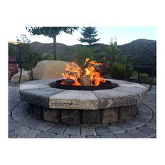 """Volcano Grills 24"""" Charcoal/Wood Fire Pit"""