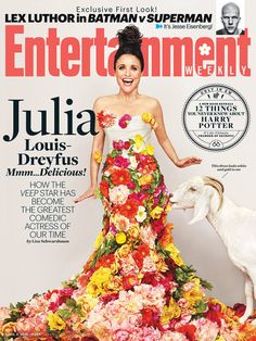 How VEEP star Julia Louis-Dreyfushas become the greatest...