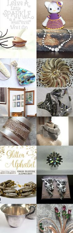 Leave a Little Sparkle Wherever You Go :-) by Nancy on Etsy--Pinned+with+TreasuryPin.com