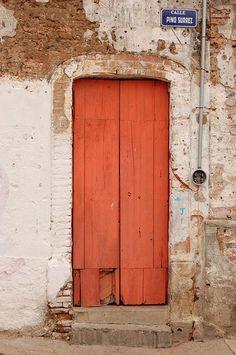 Orange Door ..rh