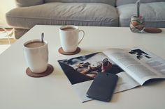 #coffefirst, morning coffee, blog, minimal, flatlay