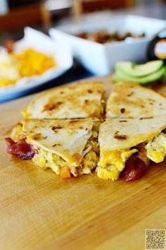 7. #petit déjeuner #Quesadillas - Tant de Quesadilla #obturations (51)…