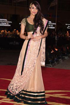 Malaika Arora Khan in Marrakesh #indianwedding #garba