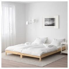 Online Ikea IKEA Utaker stackable bed, pine in Auckland NZ. Lowest prices and largest range of IKEA Furniture in New Zealand. Shop for Living room furniture, outdoor furniture, bedroom furniture, office and alot more ! Twin Bed Couch, Mattress On Floor, Floor Beds, Ikea Bed Frames, Cama Ikea, Bed Stand, Spare Bed, Moving Home, Bed Base