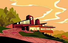 2002 ... more disney mid-century modern by x-ray delta one, via Flickr