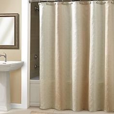 Croscill® Roebling Stripe Shower Curtain