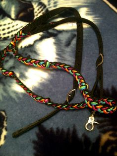 I always need reins they are always the first to get broken I love these rainbow barrel racing reins