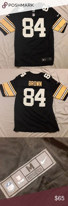 c63d2cb8bbe Antonio Brown Jersey Never worn/Perfect Condition Antonio Brown Pittsburg  Steelers Jersey. Could make