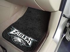 "NFL - Philadelphia Eagles 2-piece Carpeted Car Mats 17""x27"""